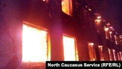Пожар (архивное фото)