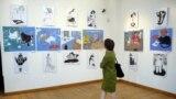 Архивное фото. Выставка работ художников с ментальными проблемами в Грузии