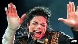 Майкл Джексон на концерте в Сингапуре, август 1993 года.