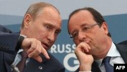 Франсуа Олланд и Владимир Путин увидятся снова. Разговор будет непростым (фото 2013 года)