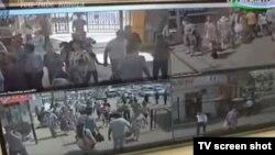 Центр видеонаблюдения при Управлении охраны ГУВД города Ташкента.