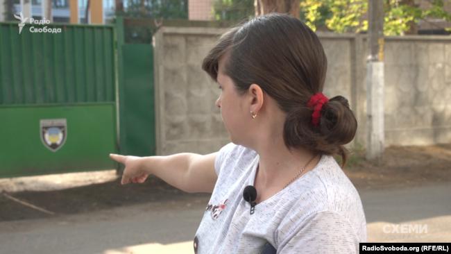 Мешканка Ірпеня Інна Бороденко