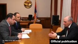 Լուսանկարը՝ Լեռնային Ղարաբաղի նախագահի պաշտոնական կայքէջի