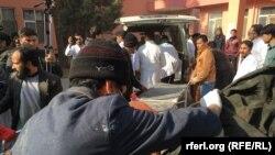 انتقال زخمیان حادثه امروز
