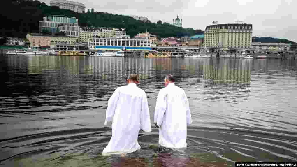 Святковаподія відбувалася у водах Дніпра