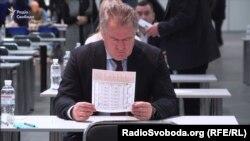 Голова Вищої ради правосуддя Ігор Бенедисюк