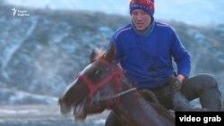 Кыргыз душой. Андрей мечтает попасть в сборную по кок-бору