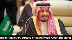 King Salman has agreed to begin hosting U.S. troops in Saudi Arabia for the first since since 2003.