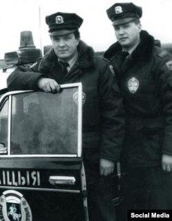 Беларуская міліцыя 90-х