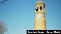 700-летний минарет в Андижане.
