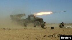 Сирийская армия на учениях, декабрь 2011 г.