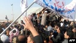 تظاهرات في الأنبار