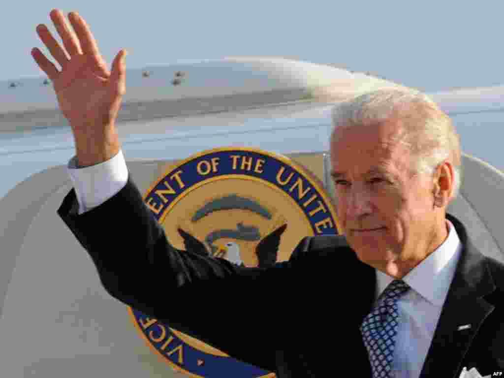 ჯოზეფ ბაიდენი თბილისში ჩამოვიდა - აშშ-ის ვიცე-პრეზიდენტის თვითმფრინავი თბილისის საერთაშორისო აეროპორტში 22 ივლისს, საღამოს დაეშვა.