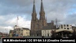 Католическая церковь святого Иосифа в городе Тилбург