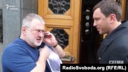 Ігор Коломойський та Андрій Іванчук