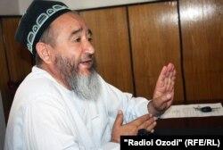 Эшони Абдулбасир Саидов, муовини раиси Шӯрои уламои маркази исломӣ