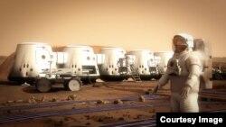Так, возможно, будет выглядеть марсианская колония