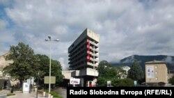 Zastava Socijalističke republike (SR) BiH u Mostaru, foto: Mirsad Behram