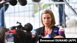 خانم موگرینی میگوید انتظار نمیرود وزیران اروپایی در نشست خود تحریمهای جدیدی علیه ایران وضع کنند.
