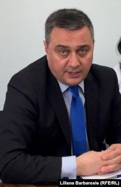 Ministrul Victor Dolidze la interviul cu Europa Liberă la Tbilisi