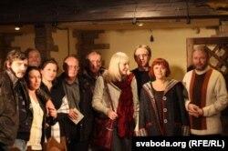 На канцэрце барда Міхаіла Шчарбакова
