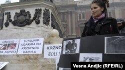 "Beograd: Protest ""Za Srbiju bez krzna"""