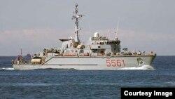 O navă Nato în apele Mării Negre la 3 iulie