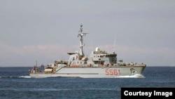 Корабли НАТО в Черном море. 3 июля 2014 года.