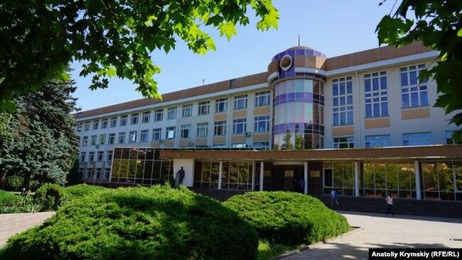 Главный корпус «Крымского федерального университета», Симферополь