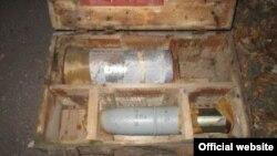 Схованка з боєприпасами (фото з сайту СБУ)