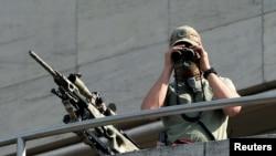 Боец бельгийского спецназа.