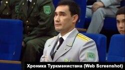 Туркманистон президентинининг ўғли Сердар Бердимуҳаммедов.
