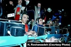در هنگام گزارشگری بازیهای المپیک زمستانی ۱۹۷۶