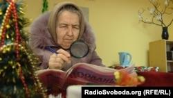 Пенсіонерка Наталя прийшла послухати лекцію