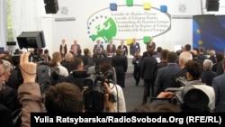 Під час конференції Асамблеї європейських регіонів у Дніпропетровську, фото 25 квітня 2013 року