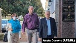 Novinar Jovo Martinović dolazi u Sud na izricanje presude 8. oktobra
