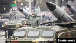 Ракетний комплекс «Точка-У» на параді на честь Дня Незалежності України, 2016 рік