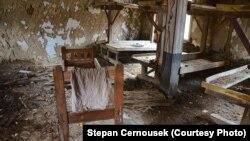 Сохранившиeся до сегодняшнего дня остатки гулаговского концлагеря в Сибири.