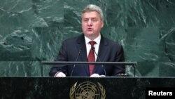 Архивска фотографија - обраќање на претседателот Ѓорге Иванов пред Генералното собрание на ОН, 27.09.2018