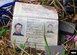 Паспорт італійського фотожурналіста Андреа Роккеллі. Слов'янськ, 25 травня 2014 року