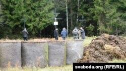 На месцы масавых расстрэлаў пад Віцебскам
