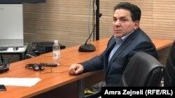 Sutkinja Ana Adamska Gallant kazala je da, što se ubistva Delalića tiče, sud nije pronašao kredibilne dokaze; na fotografiji Naser Keljmendi