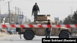 Zyrtarë policorë në Afganistan.