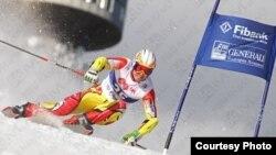 Антонио Ристевски, алпски скијач.
