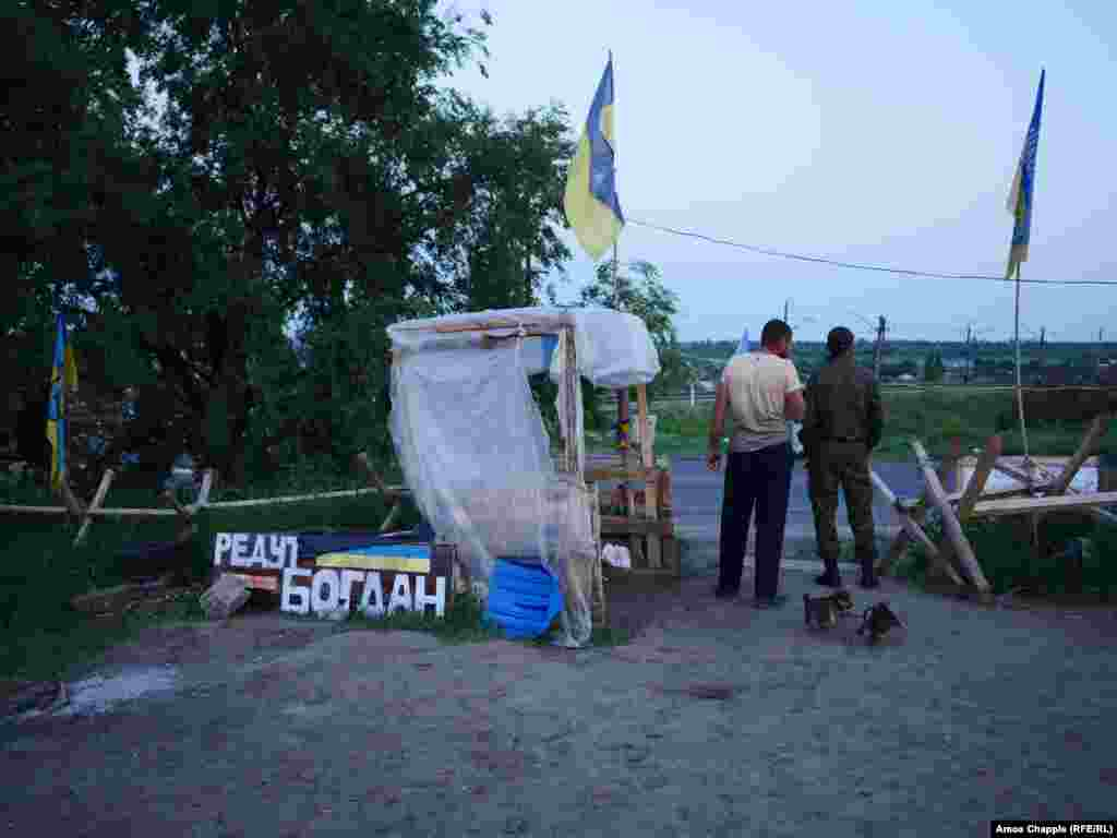 "Puppies squeal and fight as night falls over the camp. A blockade leader told RFE/RL the activists want the more than 100 Ukrainians currently held prisoner in the separatist regions released before June 11 or their unspecified ""action"" will commence."