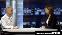 Լևոն Զուրաբյանը «Ազատություն TV»-ի տաղավարում, 26-ը օգոստոսի, 2015թ