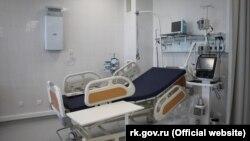 Odjeljenje intenzivne njege sa ventilatorom, ilustrativna fotografija