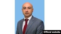 Armenia - Zarzand Nikoghosian, a bodyguard of Syunik Governor Suren Khachatrian.