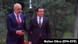 Edi Rama i Albin Kurti u Tirani 11. februara