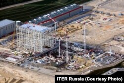 Строительная площадка проекта ITER